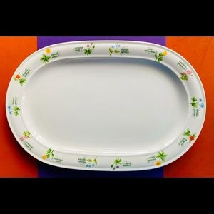 Anchor Ovenware Floret Serving Platter